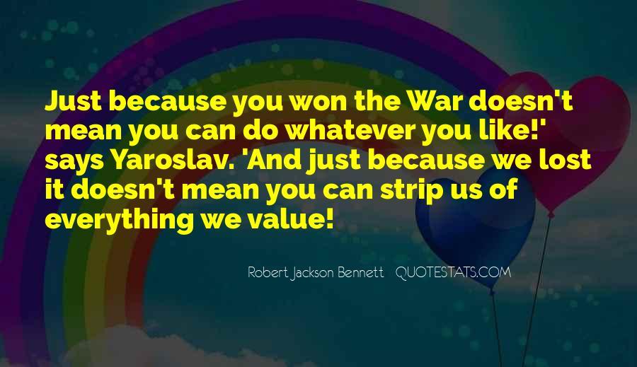 Robert Jackson Bennett Quotes #1400505