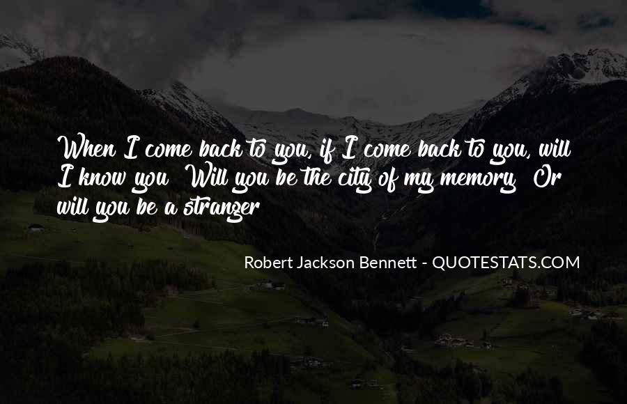 Robert Jackson Bennett Quotes #1426304