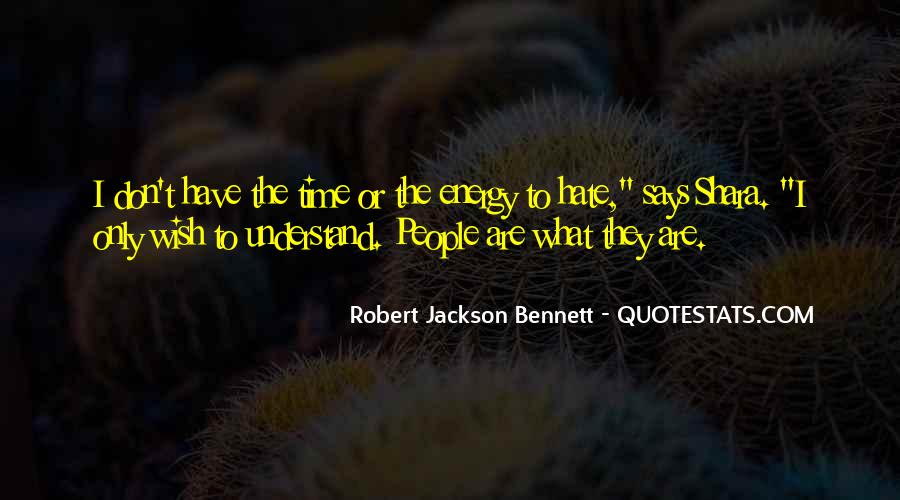 Robert Jackson Bennett Quotes #151805