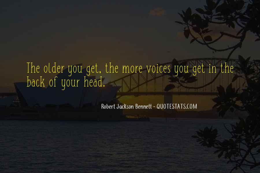 Robert Jackson Bennett Quotes #1673645