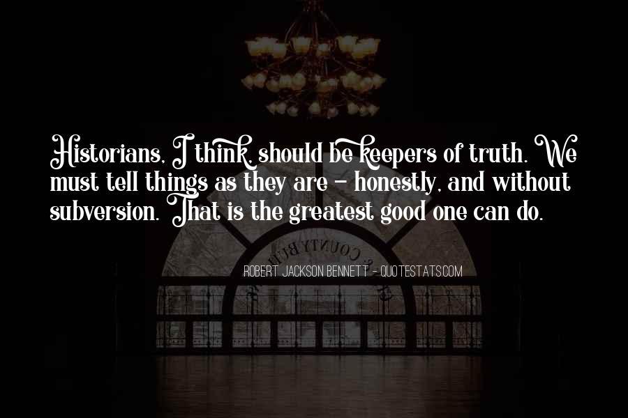 Robert Jackson Bennett Quotes #168764