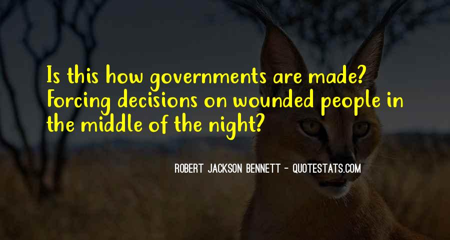 Robert Jackson Bennett Quotes #1716459