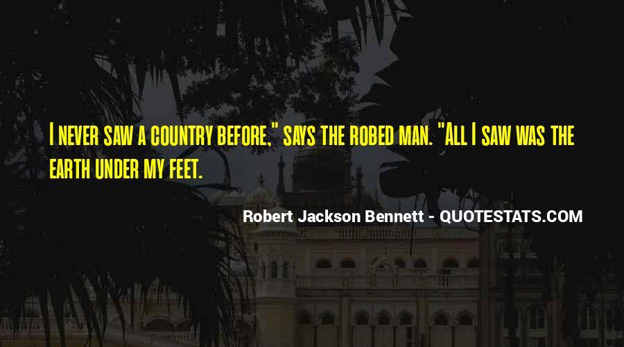 Robert Jackson Bennett Quotes #1723165