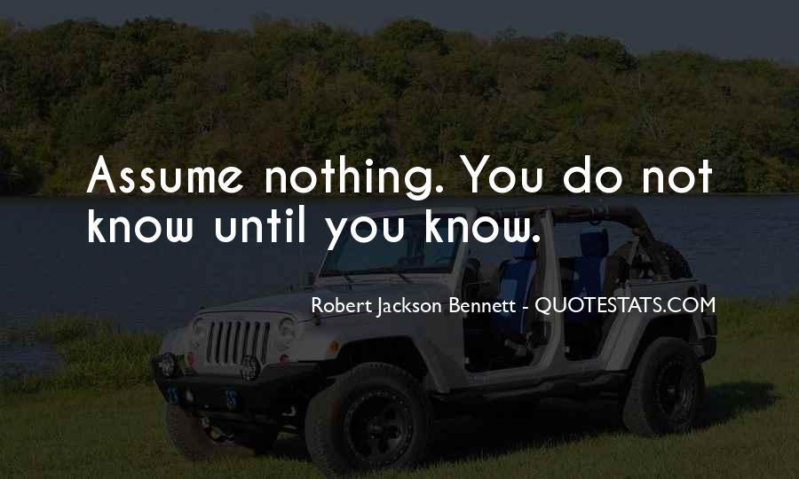 Robert Jackson Bennett Quotes #1817346