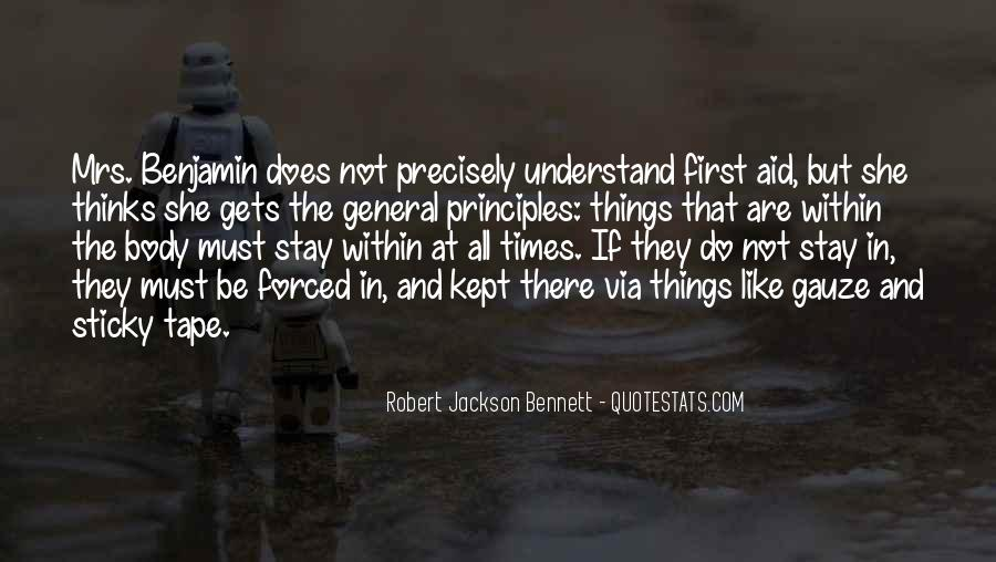 Robert Jackson Bennett Quotes #1829624