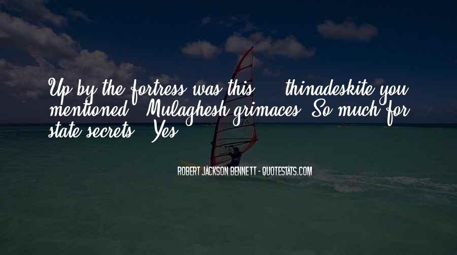 Robert Jackson Bennett Quotes #507780