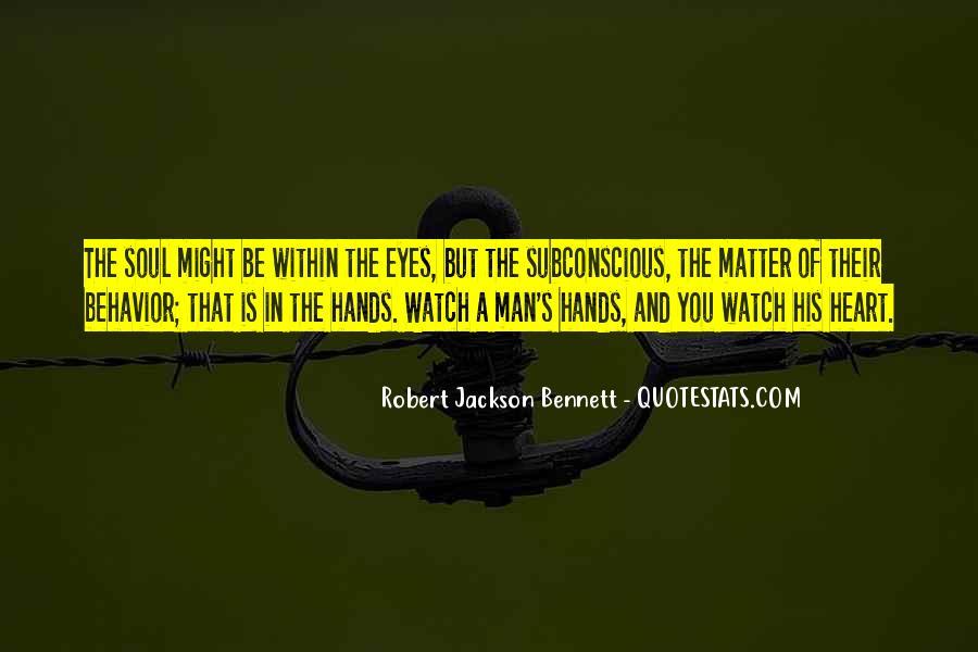 Robert Jackson Bennett Quotes #543919