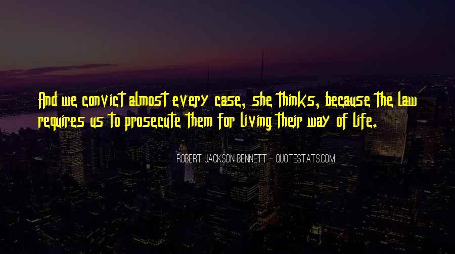 Robert Jackson Bennett Quotes #563633