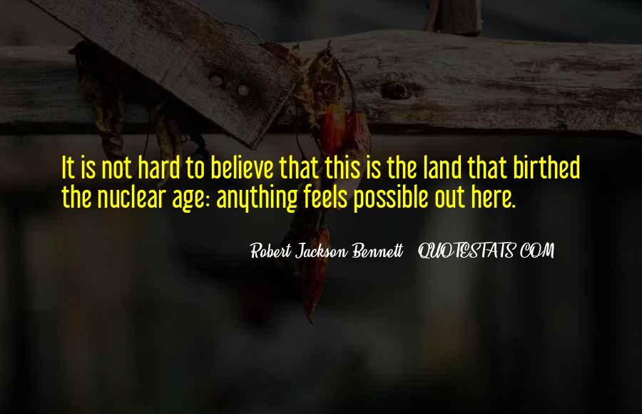 Robert Jackson Bennett Quotes #565897