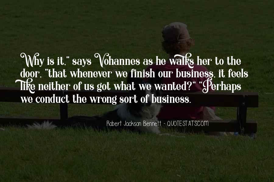 Robert Jackson Bennett Quotes #566296