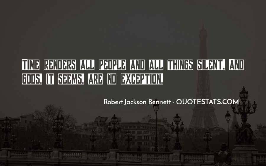 Robert Jackson Bennett Quotes #653996