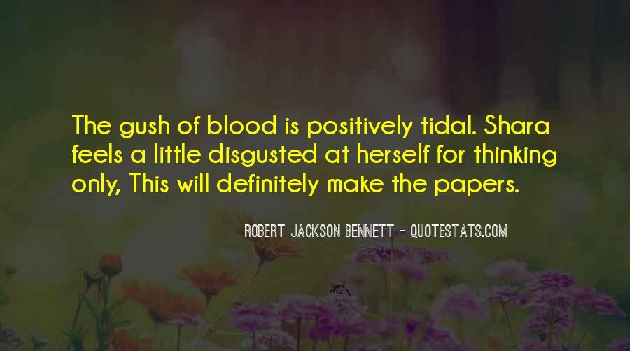 Robert Jackson Bennett Quotes #665145