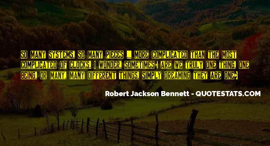 Robert Jackson Bennett Quotes #829177