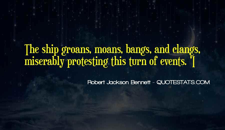 Robert Jackson Bennett Quotes #86519