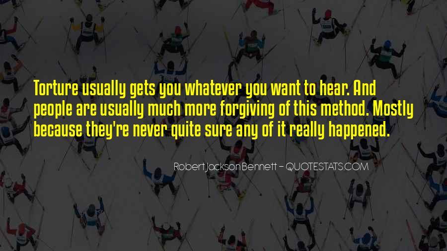 Robert Jackson Bennett Quotes #867529