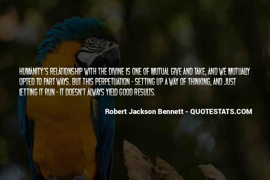 Robert Jackson Bennett Quotes #875734