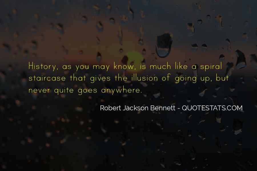 Robert Jackson Bennett Quotes #899497