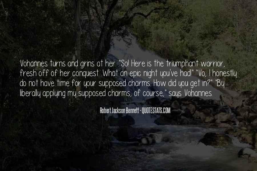 Robert Jackson Bennett Quotes #901190