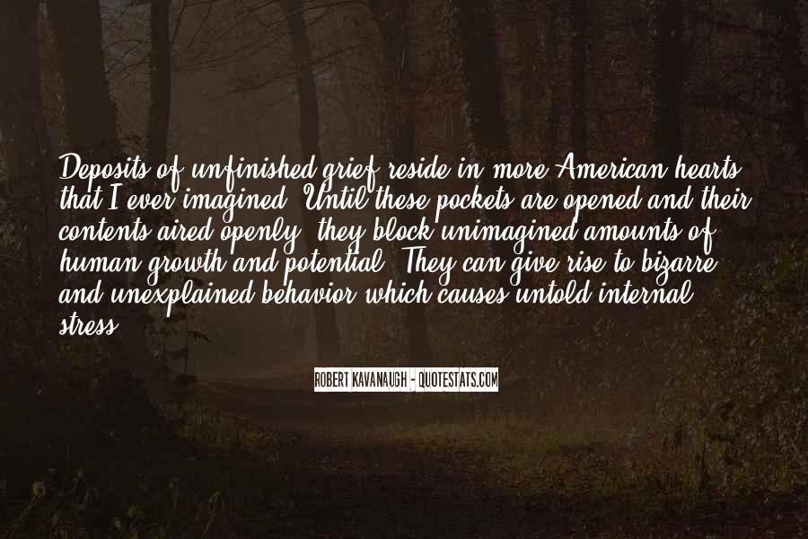 Robert Kavanaugh Quotes #312995