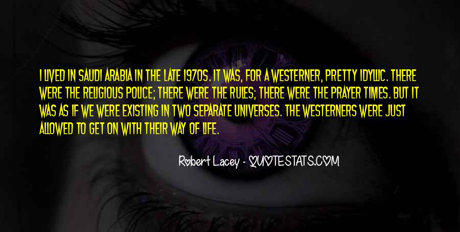 Robert Lacey Quotes #694103