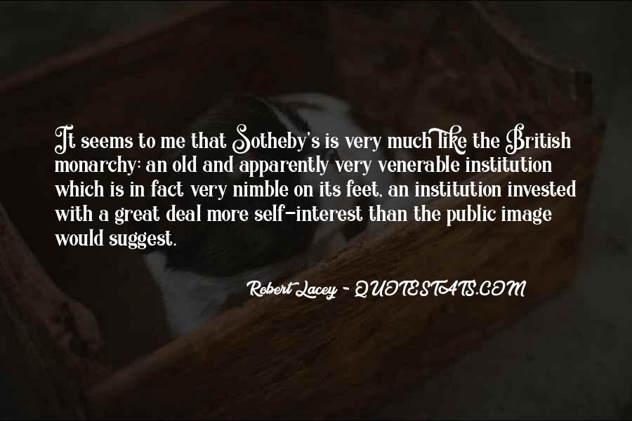 Robert Lacey Quotes #852970