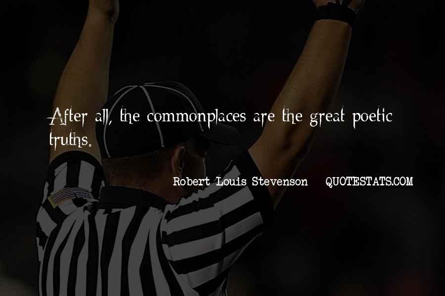 Robert Louis Stevenson Quotes #1037787