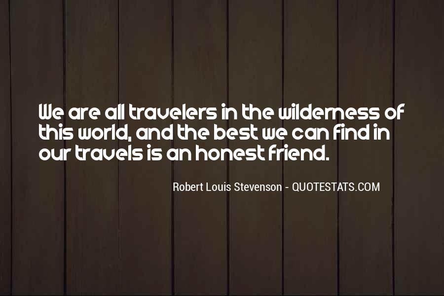 Robert Louis Stevenson Quotes #1106009