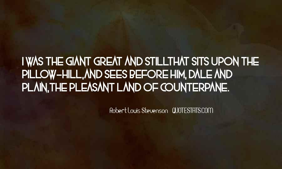 Robert Louis Stevenson Quotes #1114745