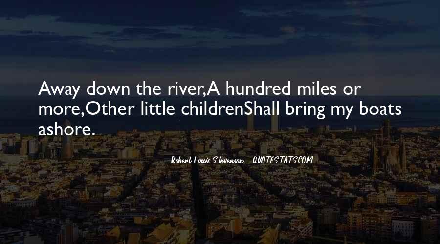 Robert Louis Stevenson Quotes #1123205