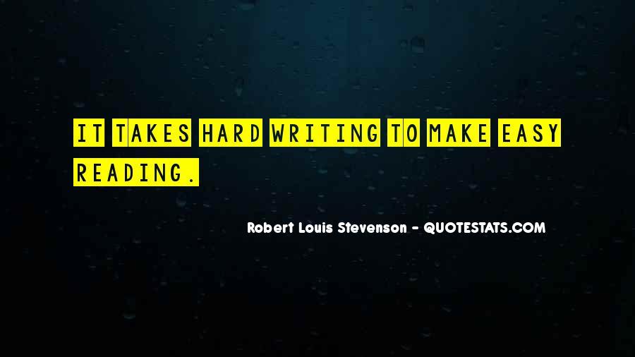 Robert Louis Stevenson Quotes #1263974