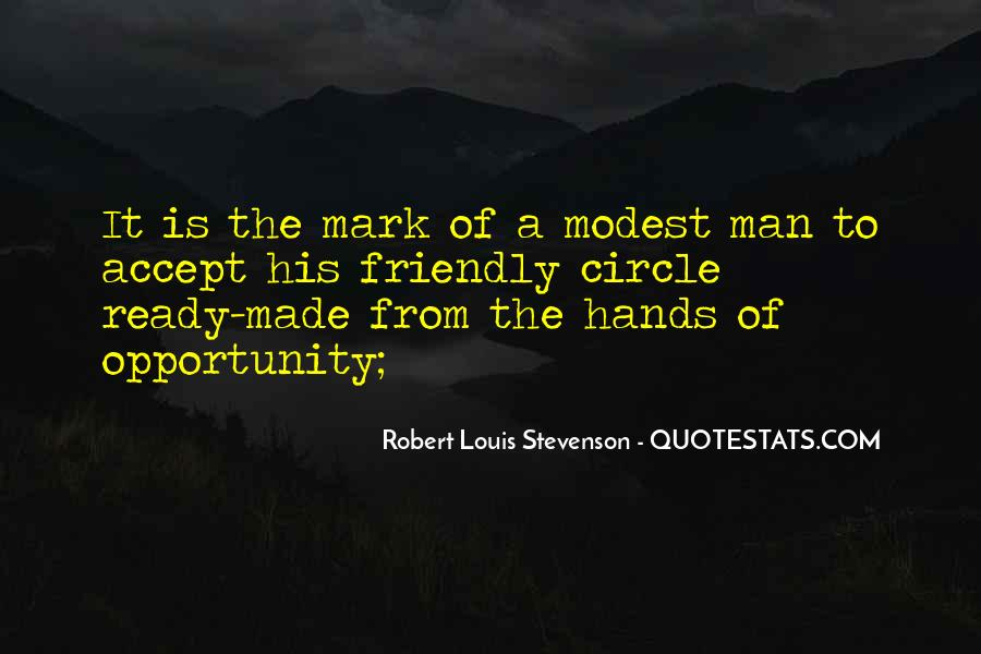 Robert Louis Stevenson Quotes #1342478