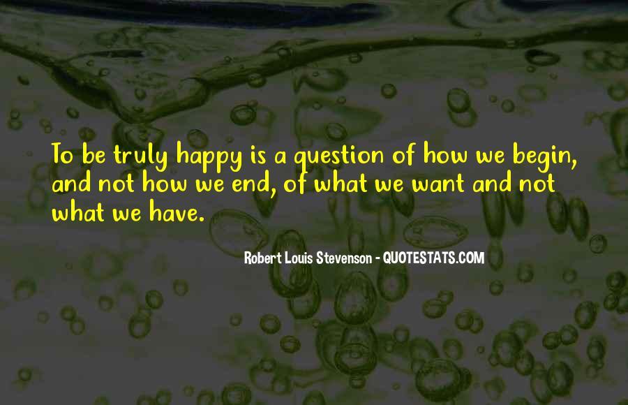 Robert Louis Stevenson Quotes #155906