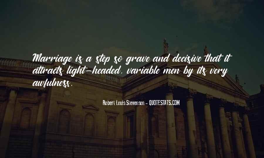 Robert Louis Stevenson Quotes #175229