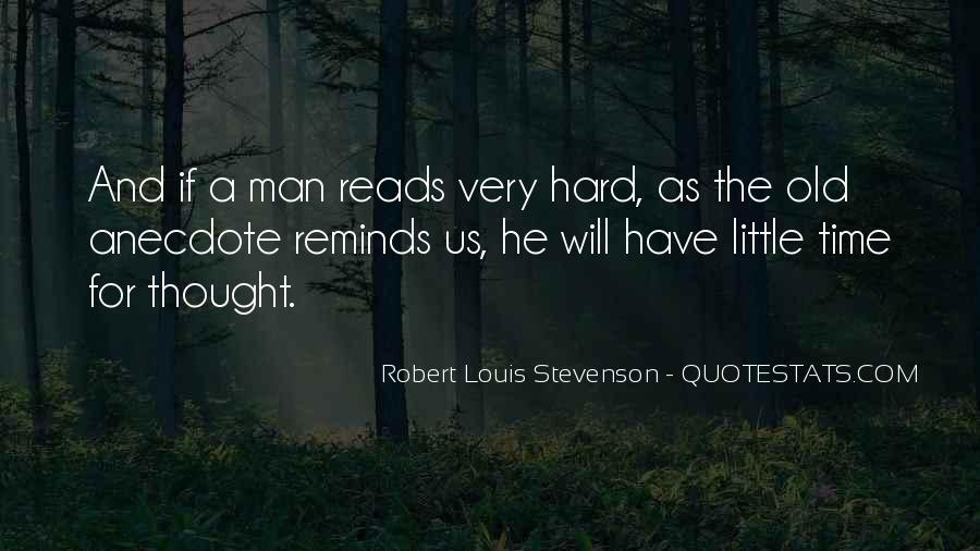 Robert Louis Stevenson Quotes #1786389