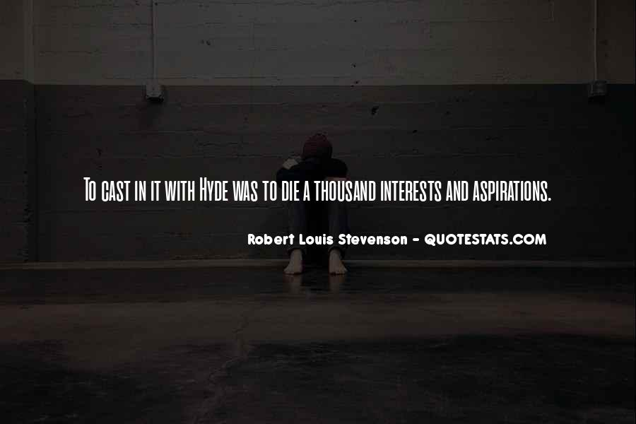 Robert Louis Stevenson Quotes #180125