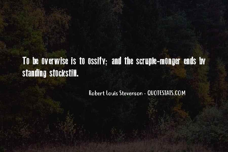 Robert Louis Stevenson Quotes #188351