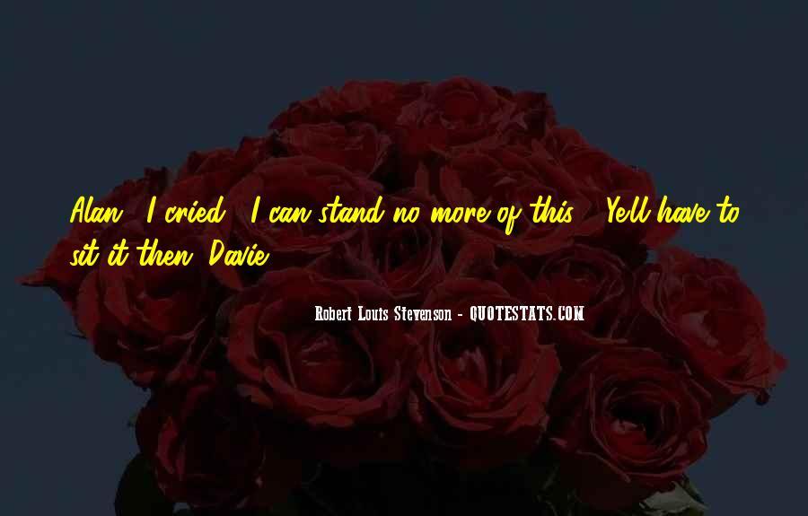Robert Louis Stevenson Quotes #201996