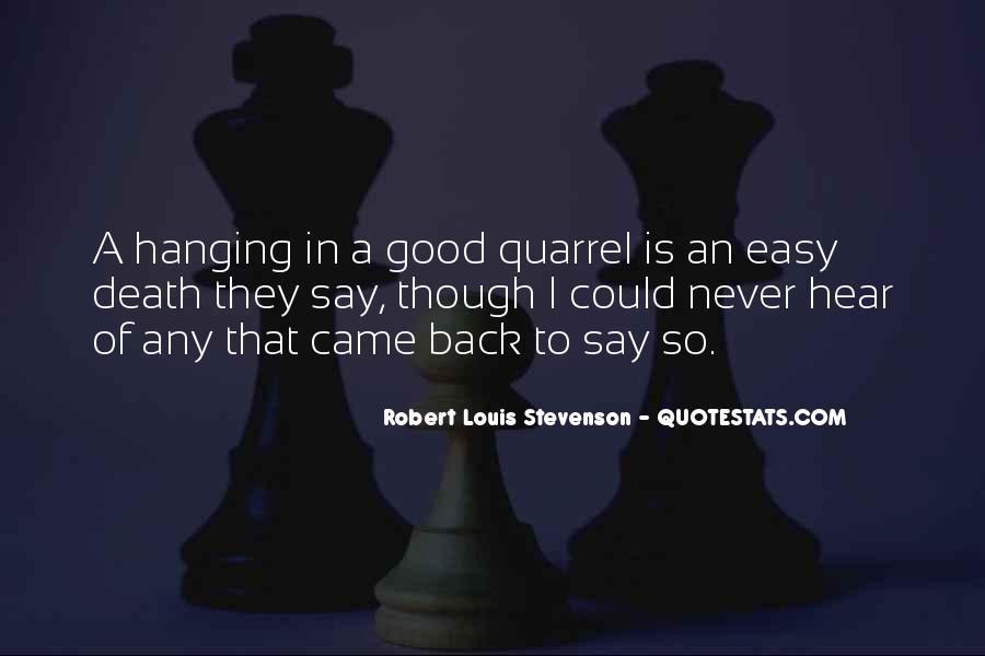 Robert Louis Stevenson Quotes #389381