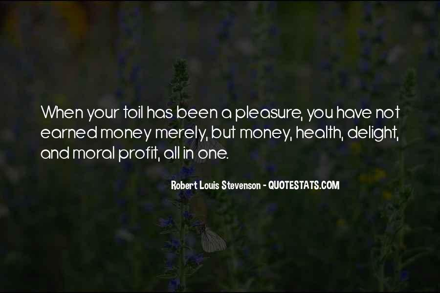 Robert Louis Stevenson Quotes #963283