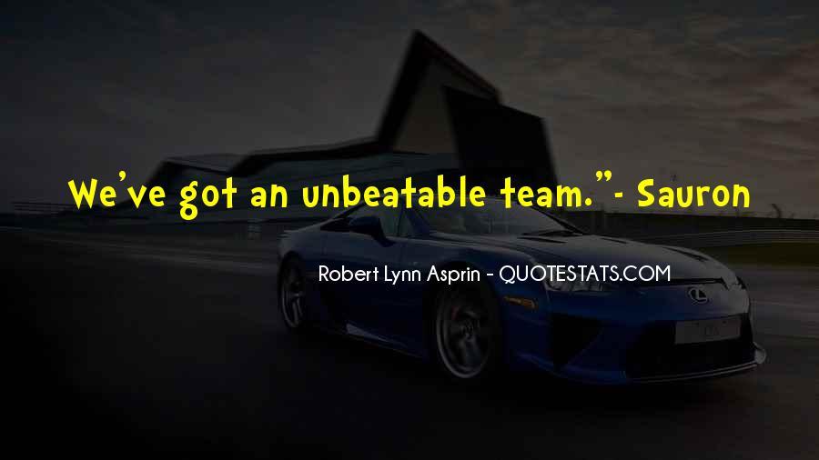 Robert Lynn Asprin Quotes #1348833