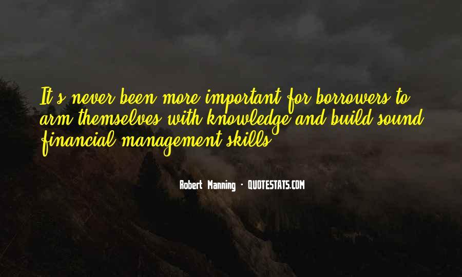 Robert Manning Quotes #1404026