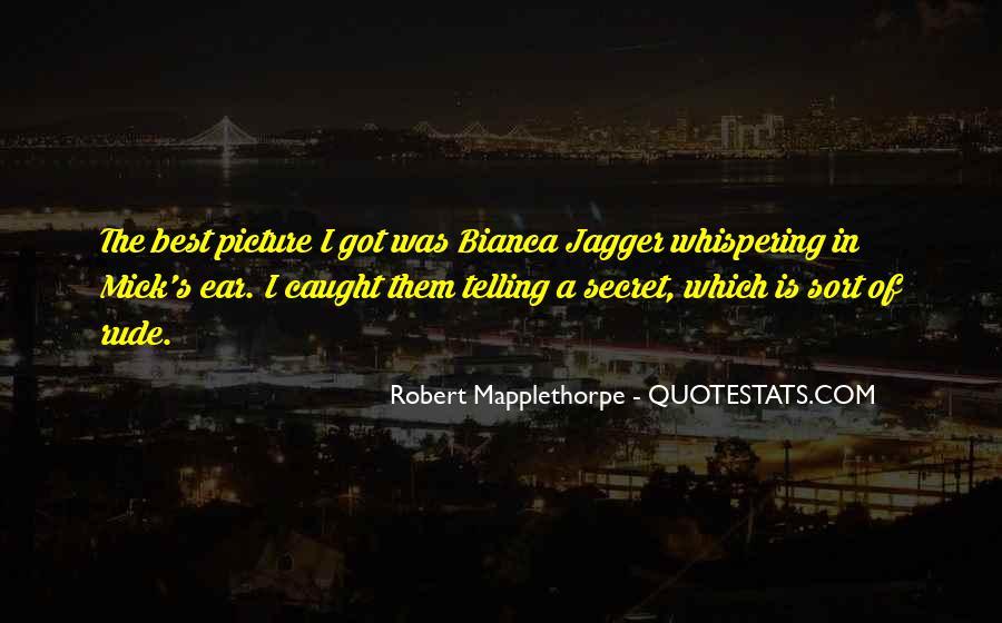 Robert Mapplethorpe Quotes #1163693