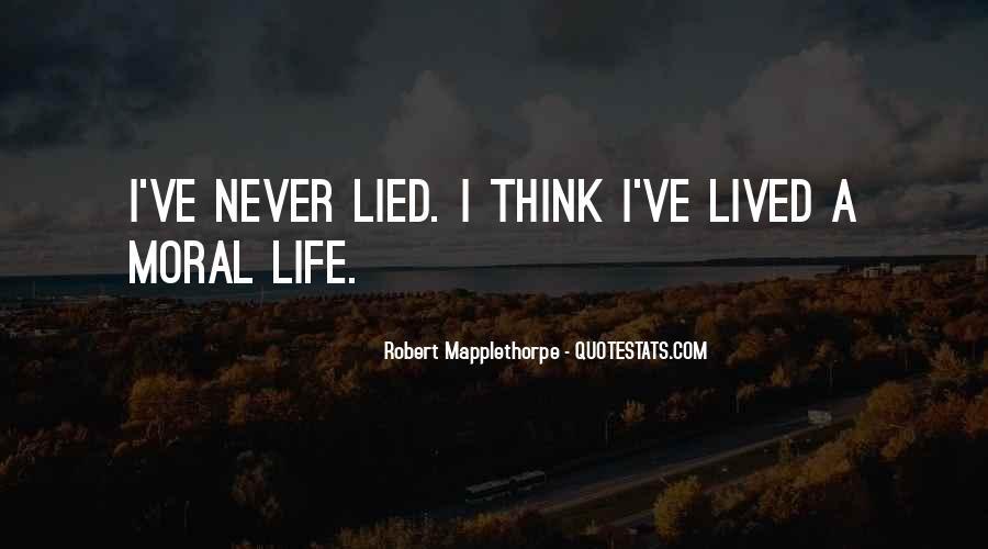 Robert Mapplethorpe Quotes #1322426