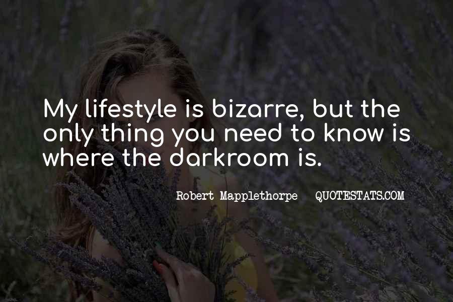 Robert Mapplethorpe Quotes #1646938