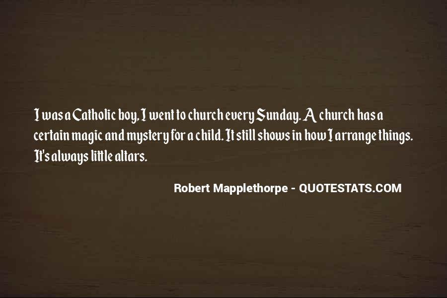 Robert Mapplethorpe Quotes #41934