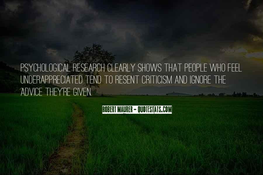 Robert Maurer Quotes #135419