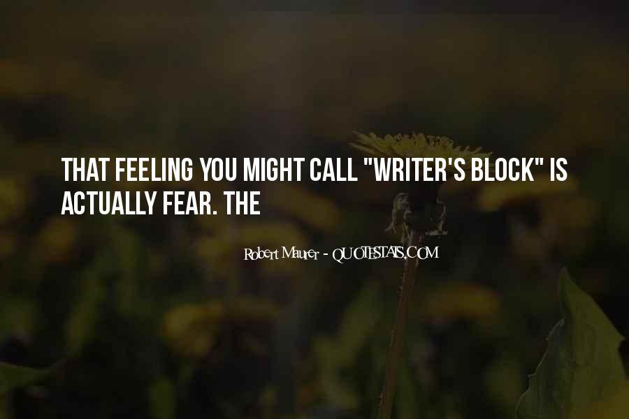 Robert Maurer Quotes #1482911