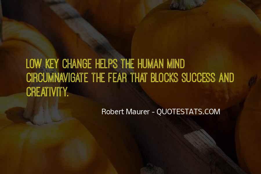 Robert Maurer Quotes #743570