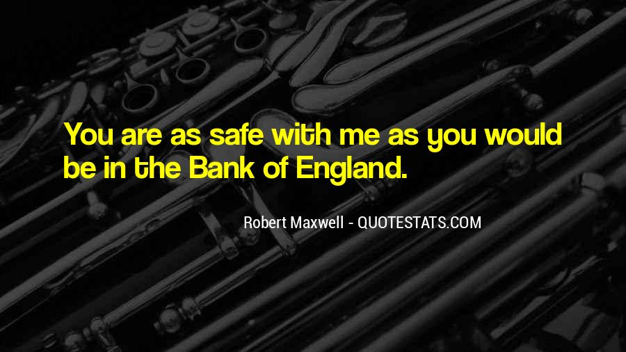 Robert Maxwell Quotes #1511791
