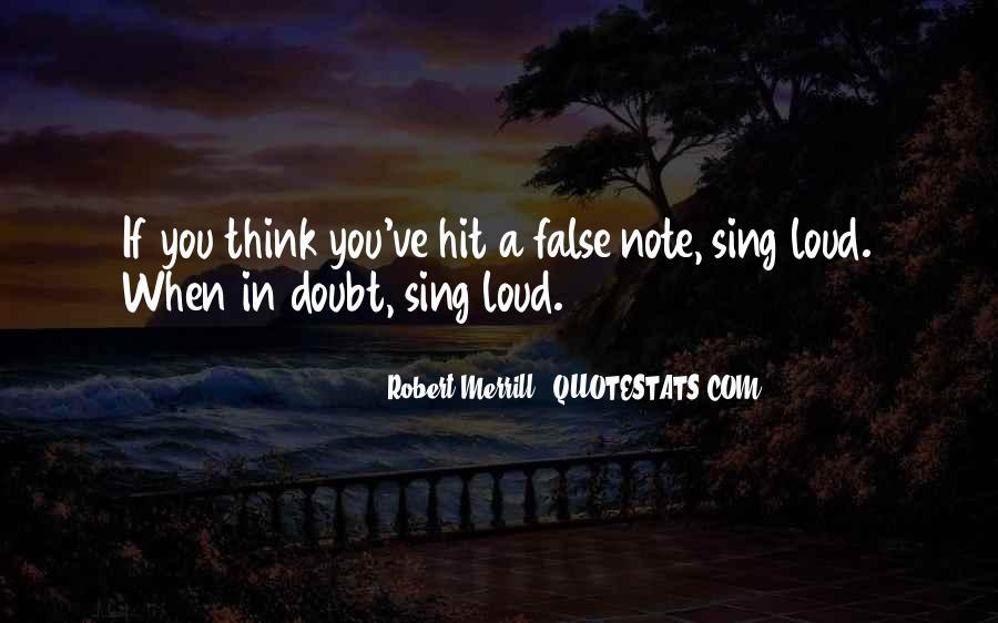 Robert Merrill Quotes #941461